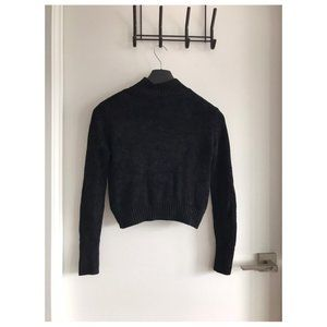 Aritzia Black Essential Turtleneck Sweater (XS)